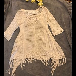 Anthropologie Angel of the North pullover